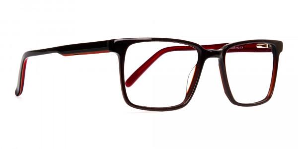 dark-brown-Rectangular-full-rim-Glasses-frames-2