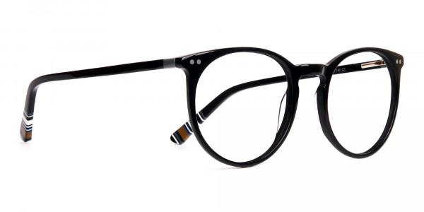 Black-Round-Designer-Glasses-frames-2