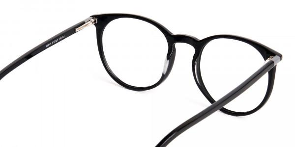 Black-Round-Designer-Glasses-frames-5