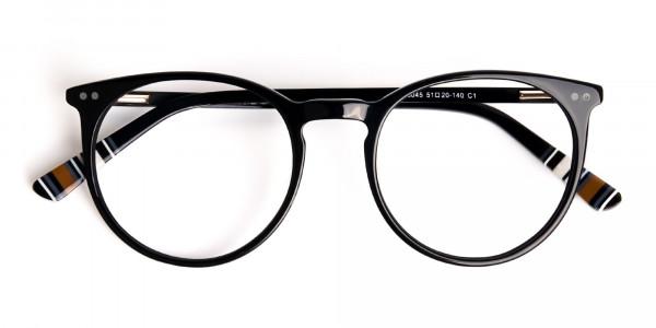 Black-Round-Designer-Glasses-frames-6