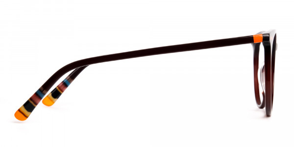 Dark-Light-Brown-Designer-Round-Glasses-frames-4