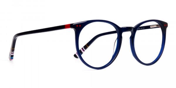 Bright-Indigo-Blue-Designer-Round-Glasses-frames-2