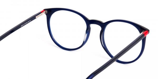 Bright-Indigo-Blue-Designer-Round-Glasses-frames-5
