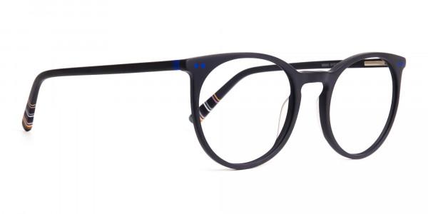 matte-black-indigo-blue-designer-round-glasses-frames-2