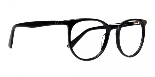 Black-full-rim-round-glasses-frames-2