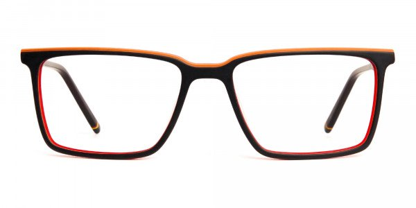 black-and-orange-rectangular-full-rim-glasses-frames-1