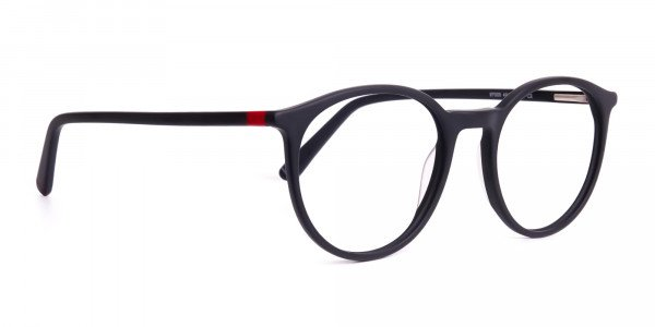 Matte-black-full-rim-Round-Glasses-frames-2
