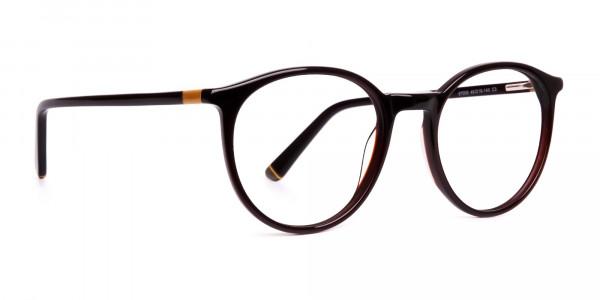 brown-round-full-rim-glasses-frames-2