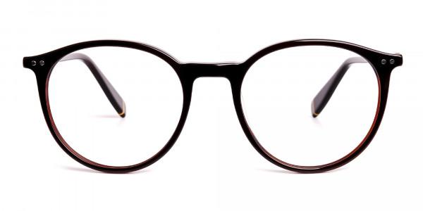 dark-brown-round-full rim-glasses-frames-1