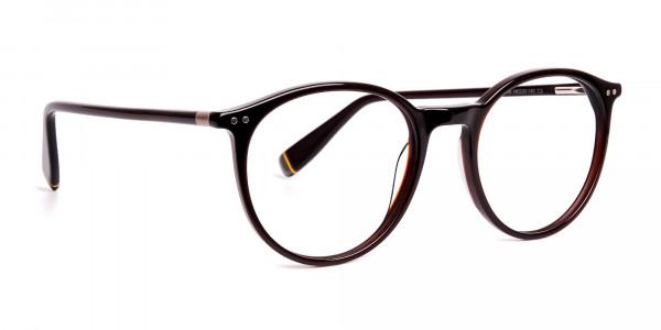 dark-brown-round-full rim-glasses-frames-2