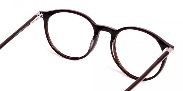 dark-brown-round-full rim-glasses-frames-5
