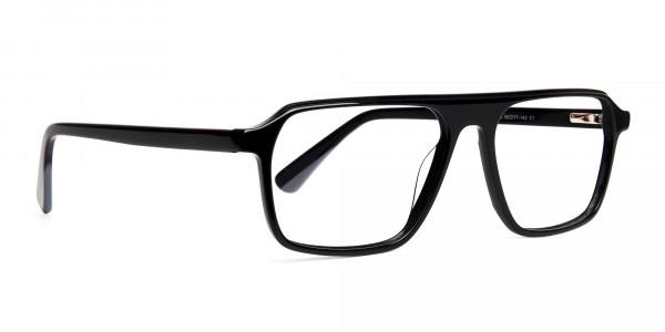 Dark-Black-Rectangular-Full-Rim-Glasses-frames-2