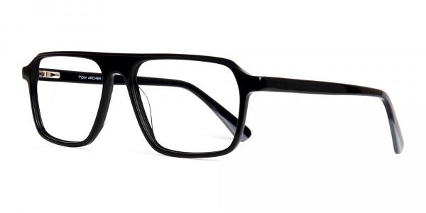 Dark-Black-Rectangular-Full-Rim-Glasses-frames-3