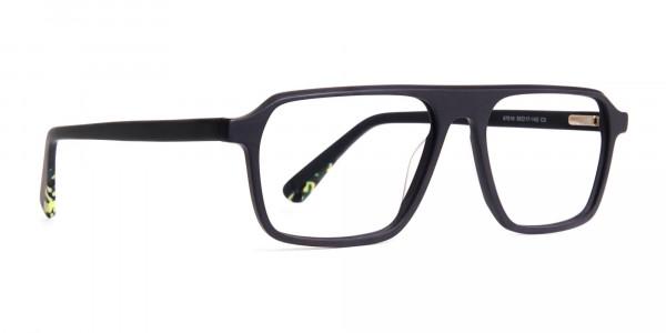 Matte-Grey-Rectangular-Full-Rim-Glasses-frames-2