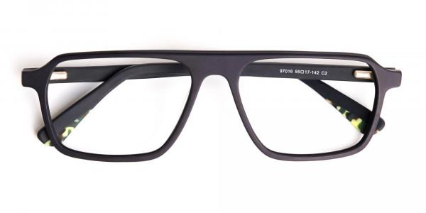 Matte-Grey-Rectangular-Full-Rim-Glasses-frames-6