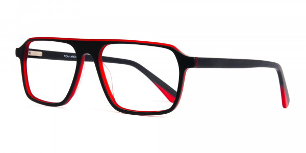 Black-and-Red-Rectangular-Full-Rim-Glasses-frames-3