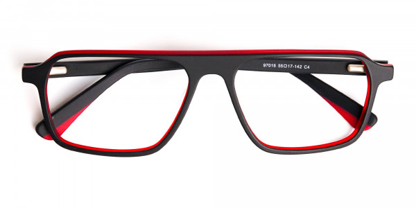 Black-and-Red-Rectangular-Full-Rim-Glasses-frames-6