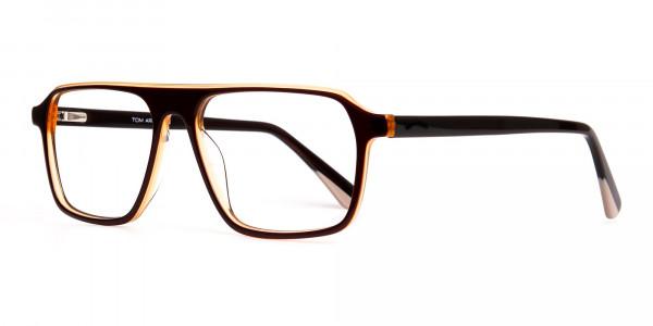 Brown-and-Black-Rectangular-Full-Rim-Glasses-frames-3