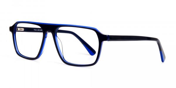 Indigo-Blue-Rectangular-Full-Rim-Glasses-frames-3