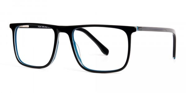 black-and-teal-full-rim-rectangular-glasses-frames-3