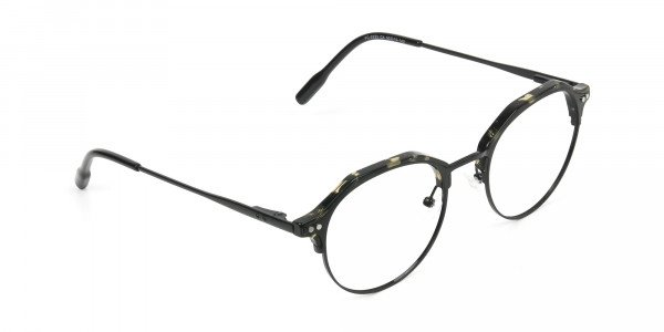 Black Marble Weightless glasses in Mixed Material - 2