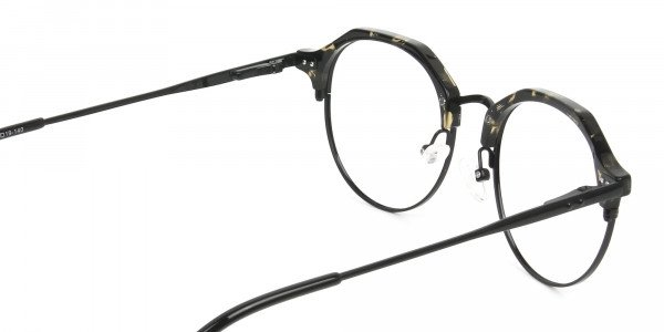Black Marble Weightless glasses in Mixed Material - 4