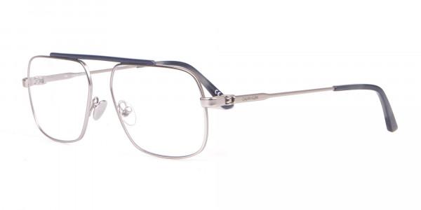 Calvin Klein CK18106 Bridgeless Silver Glasses Rectangular-3