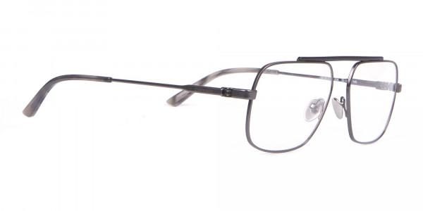 Calvin Klein CK18106 Black & Gun Metal Glasses Rectangular-2