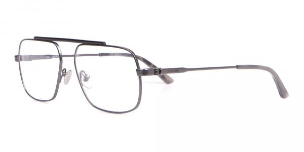 Calvin Klein CK18106 Black & Gun Metal Glasses Rectangular-3