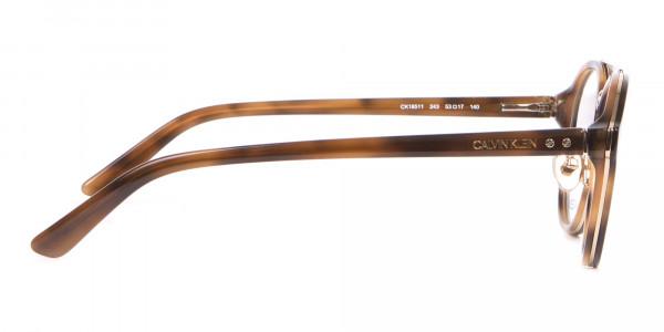 Clavin Klein CK18511 Aviator Pilot Glasses in Tortoise-4