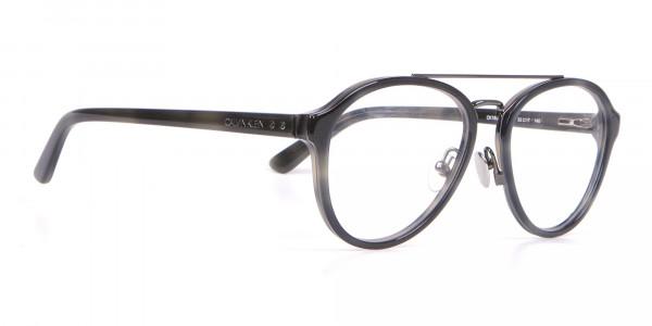 Clavin Klein CK18511 Aviator Pilot Glasses Grey Tortoise-2