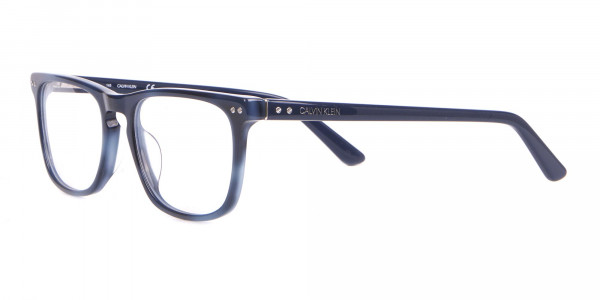 Calvin Klein CK18513 Rectangular Glasses in Tortoiseshell -3