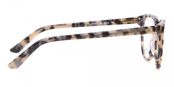 Calvin Klein CK18514 Women Cateye Glasses Cream Tortoise-4