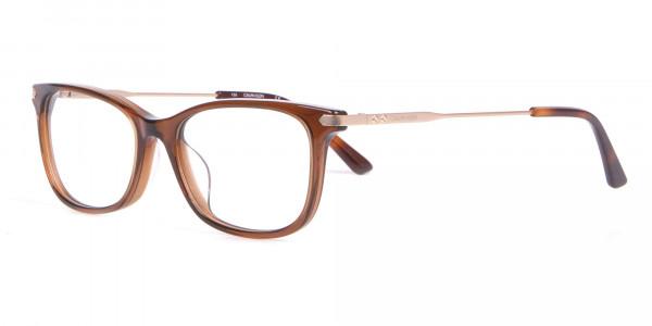 Calvin Klein CK18722 Brown Cat-Eye Rectangular Frame-3