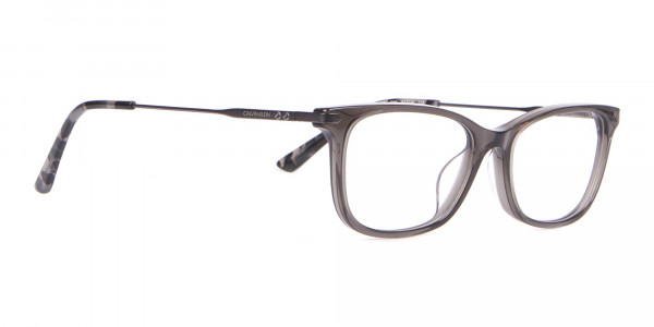 Calvin Klein CK18722 Crystal Black Cat-Eye Rectangular Frame-2
