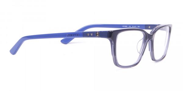 Calvin Klein CK19506 Two-Toned Retangular Glasses In Blue-2