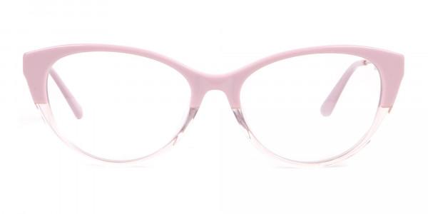 Calvin Klein CK19706 Women Two Tone Cat-Eye Glasses Pink-1