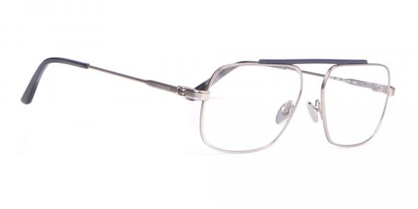Calvin Klein CK18106 Bridgeless Silver Glasses Rectangular-2