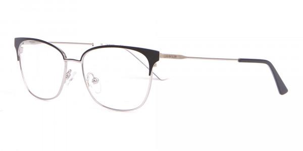 Calvin Klein CK18108 Women Rectangular Metal Glasses Black-3