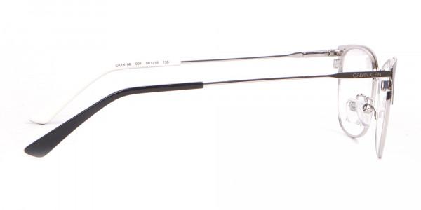 Calvin Klein CK18108 Women Rectangular Metal Glasses Black-4