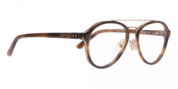Clavin Klein CK18511 Aviator Pilot Glasses in Tortoise-2