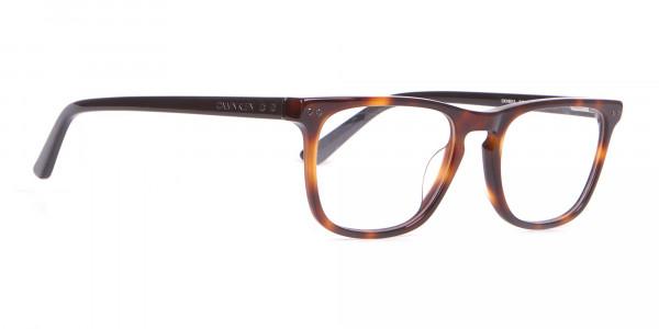 Calvin Klein CK18513 Rectangular Glasses in Brown Tortoise-2