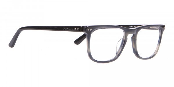 Calvin Klein CK18513 Rectangular Glasses in Grey Tortoise-2