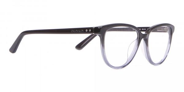 Calvin Klein CK18514 Women Cateye Glasses In Black Crystal-2