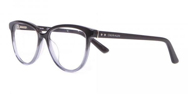 Calvin Klein CK18514 Women Cateye Glasses In Black Crystal-3