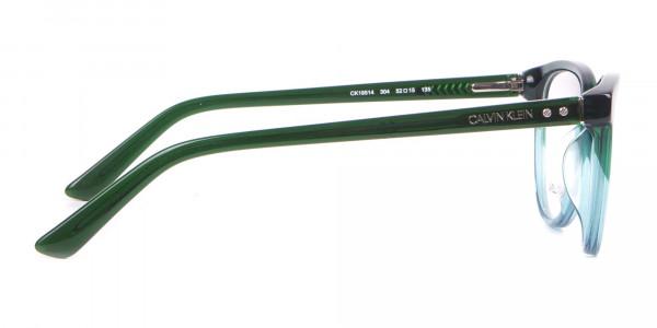 Calvin Klein CK18514 Women Cateye Glasses In Teal Green-4