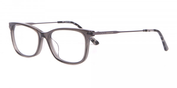 Calvin Klein CK18722 Crystal Black Cat-Eye Rectangular Frame-3