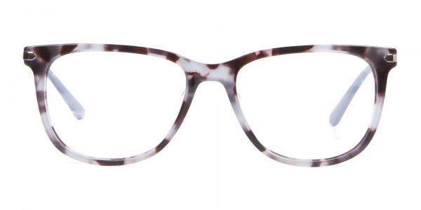 Calvin Klein CK19704 Wayfarer Glasses In Blue Tortoise-1