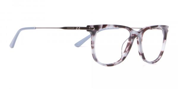 Calvin Klein CK19704 Wayfarer Glasses In Blue Tortoise-2
