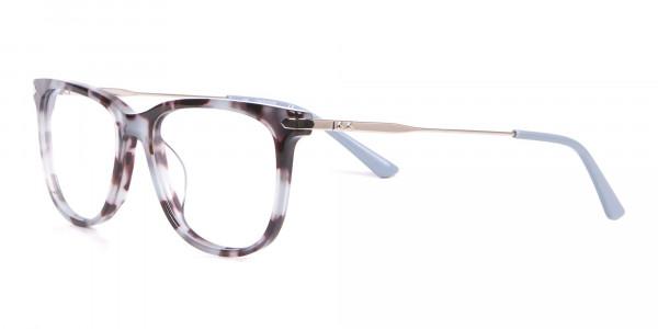 Calvin Klein CK19704 Wayfarer Glasses In Blue Tortoise-3